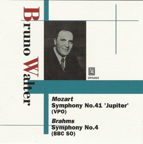ブルーノ・ワルター: モーツアルト:交響曲第41番「ジュピター」&ブラームス:交響曲第4番