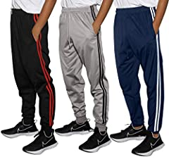 Workout, Gym, Running and Fashionable Lounge/Casual Wear. Drawstring on elastic waistband. Jersey-Lined Pockets Ideal For Holding Phone, Wallet And Keys While Working Out. Ventilated Quick-Dry Tricot Fabric Keeps You Cool and Dry; Fleece Brushed insi...