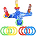 Inflatable Pool Ring Toss Game