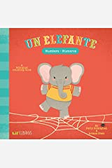 Un Elefante: Numbers- Numeros (English and Spanish Edition) Board book