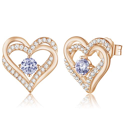 Forever Love Heart Earrings