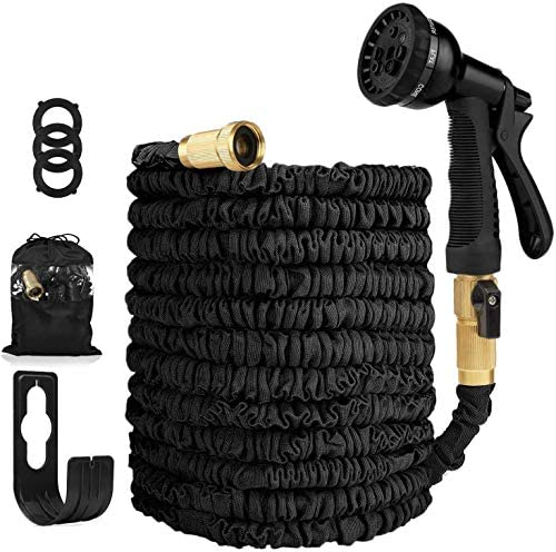 Garden Hose Expandable Hose Heavy Duty Flexible Leakproof Hose 8 Pattern High Pressure Water product image