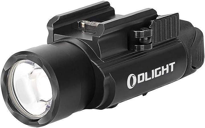 Torcia ricaricabile per pistola 1500 lumen, distanza max di luce fino al 280 m olight pl-pro valkyrie B07RHMQ4VG
