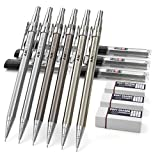 Nicpro 6PCS Mechanical Pencils Set, Cool Metal Drafting Pencil...