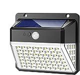 Lampe Solaire Extérieur, Yacikos 82 LED [2000mAh-2 Pack] Éclairage Solaire avec Détecteur de Mouvement, Lumière Solaire Étanche IP65, Spot Solaire Sans Fil avec 270° d'Illumination pour Jardin
