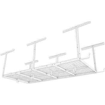 Overhead Garage Storage Rack Fleximounts 3 x 8 ft