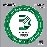 D'Addario ダダリオ エレキギター用バラ弦 ニッケル .044 NW044 【国内正規品】