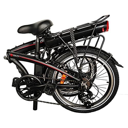 Bicicleta Elctrica de Montaa Ciclomotor Negro, Batera 36V 6.0Ah Asiento Ajustable con...