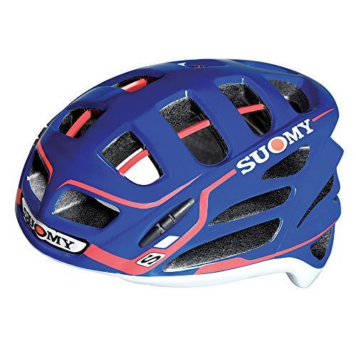 SUOMY GUNWIND - Casco para Bici, Multicolor (Blue/Red), M (54-58)