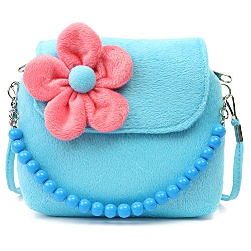 Gspose Bonito bolso de mensajero para bebé, niña, simpático dibujos animados, monedero pequeño, bolso de mano, bolso para niños, bolso bandolera, bolso para niños, bolso para colgar flores