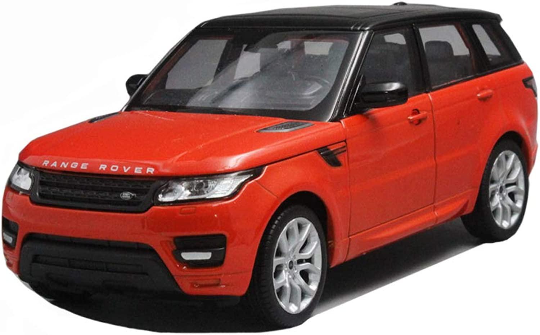en linea LBYMYB LBYMYB LBYMYB Modelo de Coche Land Rover Range Rover vehículo Todoterreno 1 24 simulación de fundición a presión Modelo de Coche de Juguete de aleación de Coche estático decoración (Color   rojo)  tienda de ventas outlet