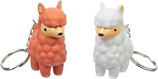 Funtime Gifts FU7360 PooPoo Llama Keyring, Multi
