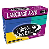 Teacher Created Resources I Have. Who Has.? Language Arts Game Grade 3-4 (7816)