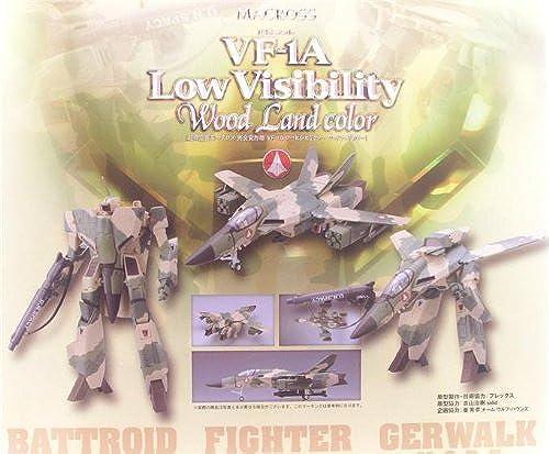 1 48 Perfekte Variante VF-1A Low Visibility Farbe Woodland (Japan Import   Das Paket und das Handbuch werden in Japanisch)