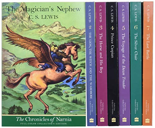 The Chronicles of Narnia Full-Color Paperback 7-Book Box Set: 7 Books in 1 Box Set