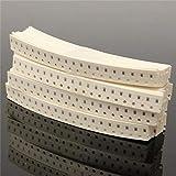 ARCELI 1800 Pezzi 0603 1% SMD SMT Kit condensatore di resistenza Assortimento di pacchetti di valori 2x1mm 10R ~ 1M 1 / 10W