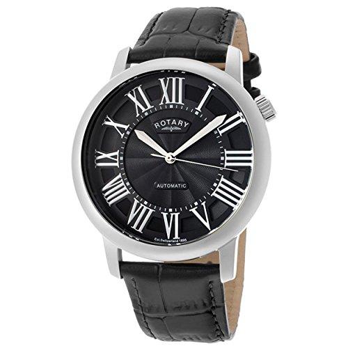 Rotary Reloj Análogo clásico para Hombre de Automático con Correa en Cuero GLE000010/10S