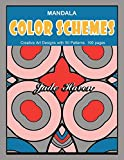 Mandala Color Schemes: Zentangle Mandala Coloring Book, a Stress Relief Design for All Adults, Relaxing Quarantine Pattern.