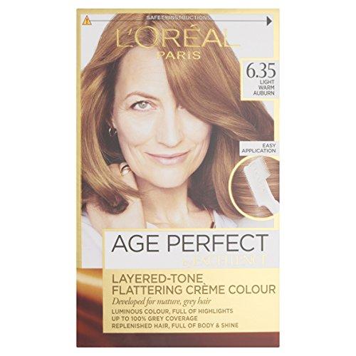 Excellence Color Age Perfect Permanent Colour 6.35, Light Warm Auburn by Excellence Color