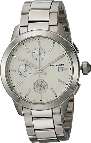 Tory Burch Womens Collins - TBW1252 Silver One Size