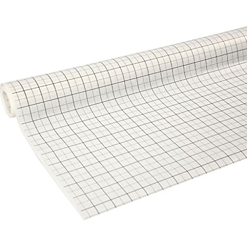 Kariertes Schnittmusterpapier zum Schneidern, Breite: 80 cm, 15 m