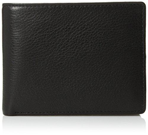 Perry Ellis Men's Park Avenue Passcase Wallet, Black, One Size
