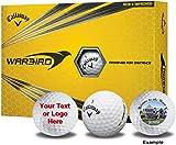 Callaway 1 Dozen Warbird Custom Logo Golf Balls -