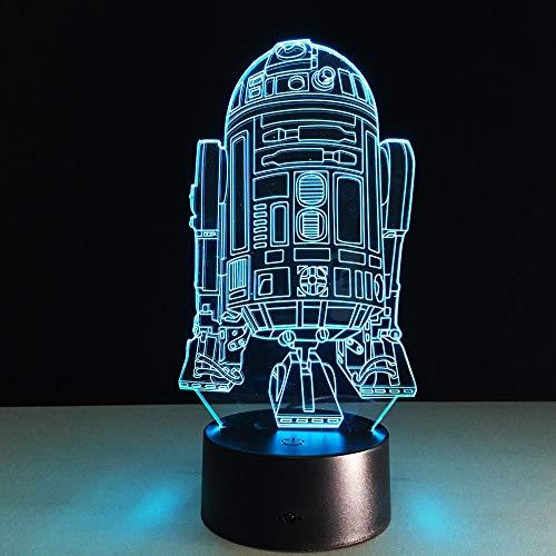 Kühle Roboter neuheit nachtlicht nachttischlampe tischlampe nachtlicht Kinder