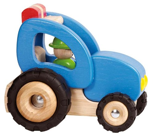 Goki - 2041273 - Figurine Transport Et Circulation - Tracteur