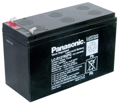 Panasonic LC R127R2PG Blei Akku (187 Faston, 4,8mm)