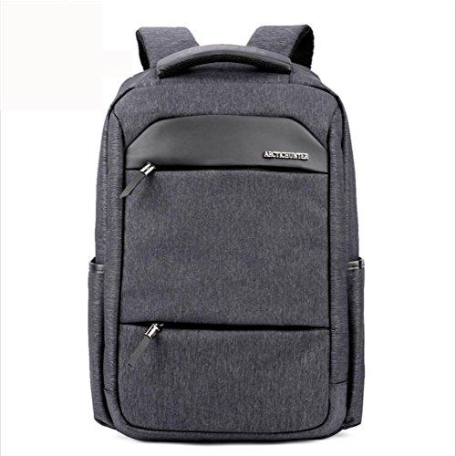 beibao shop Backpack Sac à Dos pour Ordinateur Portable 18 Pouces Imperméable Nylon Entreprise Décontractée Backpack, Grey
