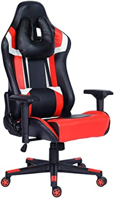 Marvelous Amazon Com Gtracing Gaming Chair With Footrest And Alphanode Cool Chair Designs And Ideas Alphanodeonline