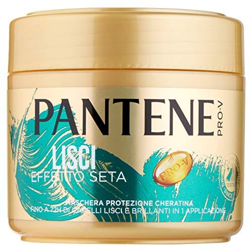 Pantene Pro-V Masque lisse effet soie, protection kératine, pour cheveux crépus 300 ml