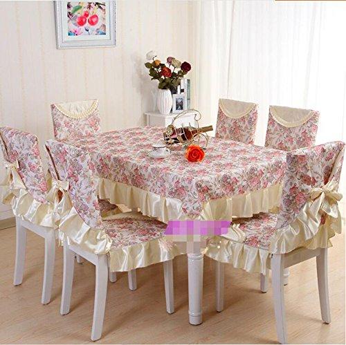 Set de table couverture de chaise en tissu, table costume en tissu, Continental,110*160CM