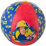 Sambro- Balle de Natation Gonflable Sam Le Pompier en Plein air pour la Piscine, Jouet de fête, Multicolore