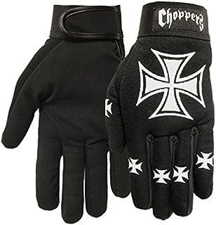 Hot Leathers Choppers Mechaniker Handschuhe, Größe XL, Schwarz