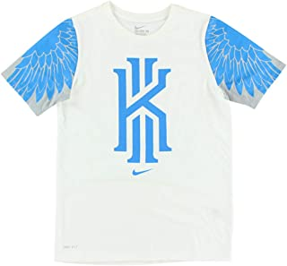 Nike Boys Kyrie Irving Dri Fit Mascot T Shirt White