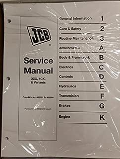 jcb workshop manual