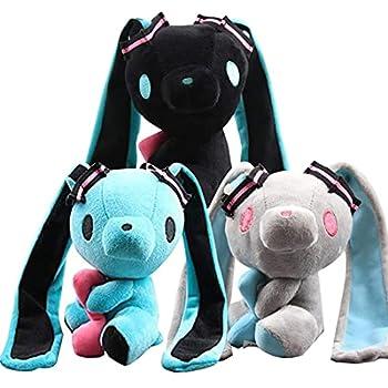 Hatsune Miku Gloomy Bear BunnyPlush Toy 3PCS Gloomy Bear Stuffed Doll Gift for Birthday  6.69 Inch