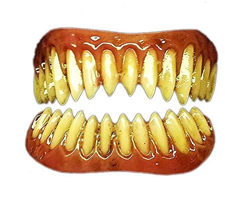 Raptor FX Fangs 2.0 Evil Teeth Dental Veneer, Light Stain, Adult