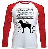 teesquare1st Pointer Can Enjoy Life Camiseta DE Mangas ROJA LARGAS T-Shirt Size Small