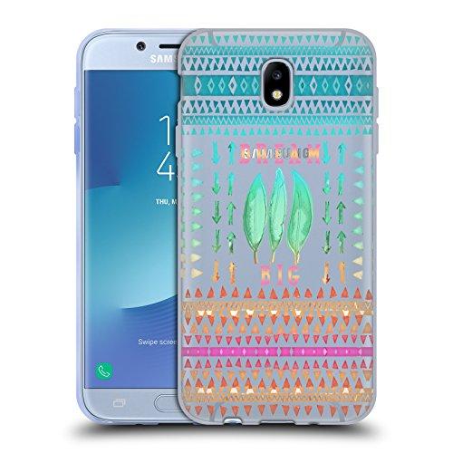 Head Case Designs Oficial Monika Strigel Grandes Sueños Cita Feliz 2 Carcasa de Gel de Silicona Compatible con Samsung Galaxy J7 2017 / Pro