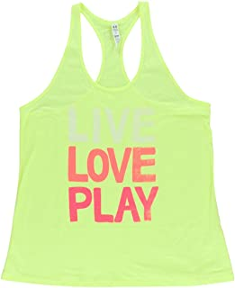 Under Armour Women Live Love Play Tank Top Yellow M