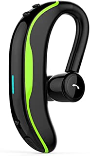 Bluetooth Earphones & Headphones,pgmrw23h 1Pc f600 Wireless Bluetooth Hands-free Earhook Earphone Sports Business Headset - Green