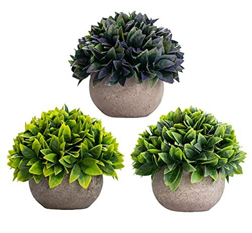 Artificial Plants Fake Plants for Plant Decor, Cute, Realistic Desk Plant - Small Artificial Plants Fake Plant Artificial Plant for Home Decor Faux Plant Feaux