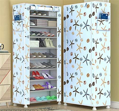 N/Z Equipo para el hogar Estante de Zapatos Simples para Polvo Multifuncional Simple Espacio Moderno Dormitorio Almacenamiento de Zapatos Estante para Zapatos