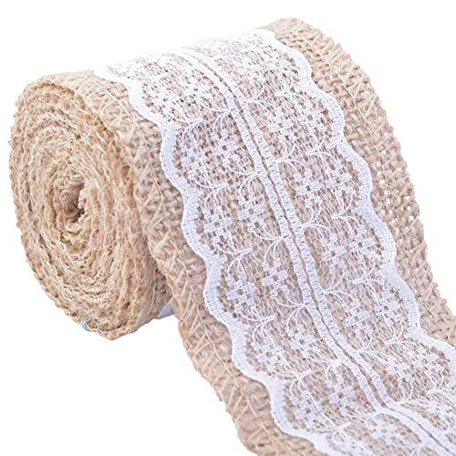 Rekkles 5 Yards Largeur Douce Dentelle Tissu brod/é Net d/écoratif Dentelle Parti Ruban de Mariage D/écor Craft V/êtements