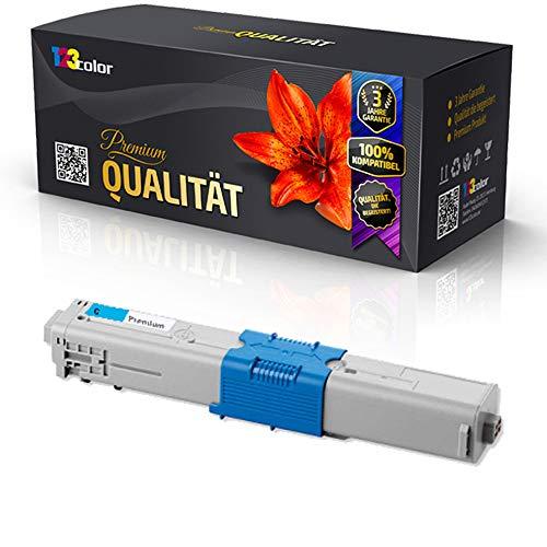 Kompatible Tonerkartusche für OKI MC 332 DN MC 340 Series MC 342 DN MC 342 DNW 44973535 Cyan Blau - Office Pro Serie