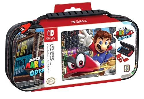 Bigben Custodia Mario Odyssey Switch - Ufficiale Nintendo