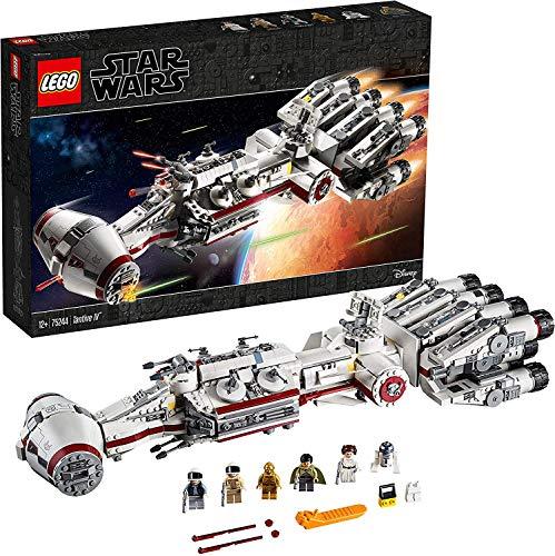 LEGO Star Wars - Tantive IV, Set de construcción de Crucero Espacial de Alderaan, maqueta de Nave Espacial Coleccionable (75244)